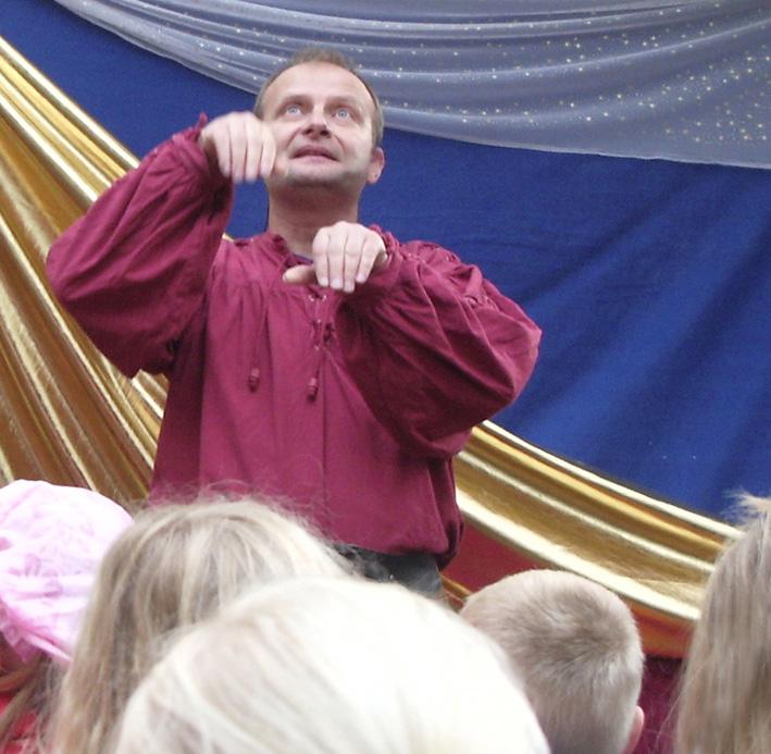 Märchenerzähler für Kinder