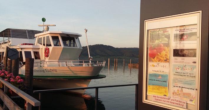 Das Märchenschiff vom Bodensee
