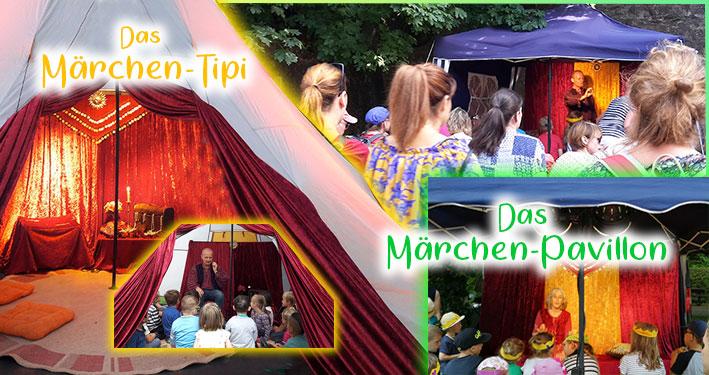 Märchentipi und Märchenpavillon