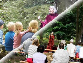 Märchen Waldprojekt in Corona Zeiten