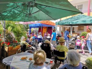 Märchenerzähl-Veranstaltung im Seniorenheim